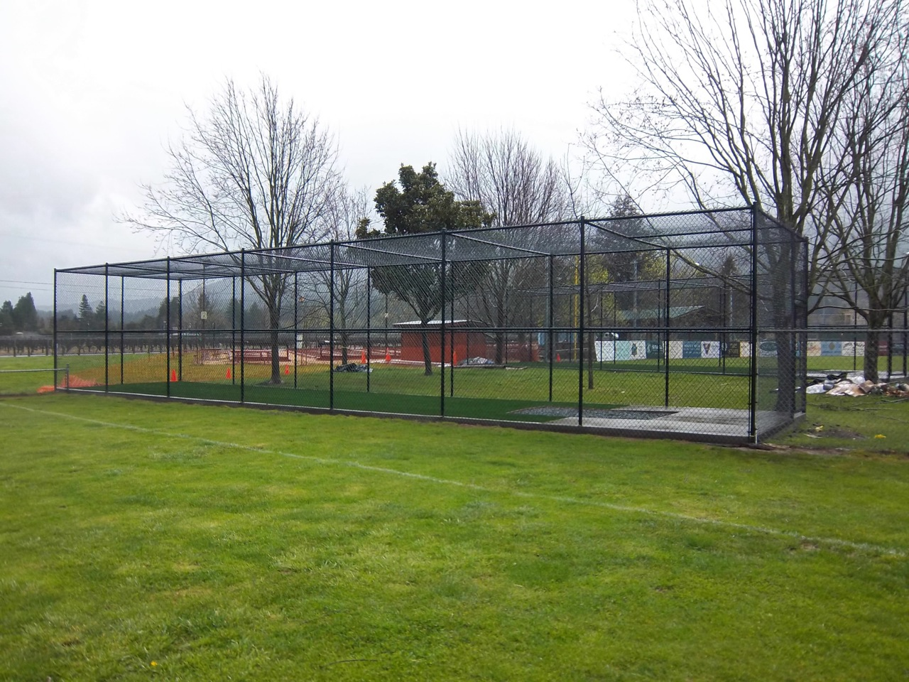 baseball backstops arbor fence inc a diamond certified company
