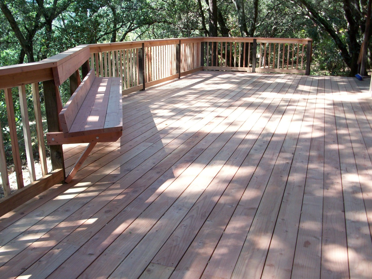 Wood decks arbor fence inc a diamond certified company for Timber decking seconds