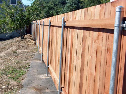 Galvanized steel posts « arbor fence inc a diamond