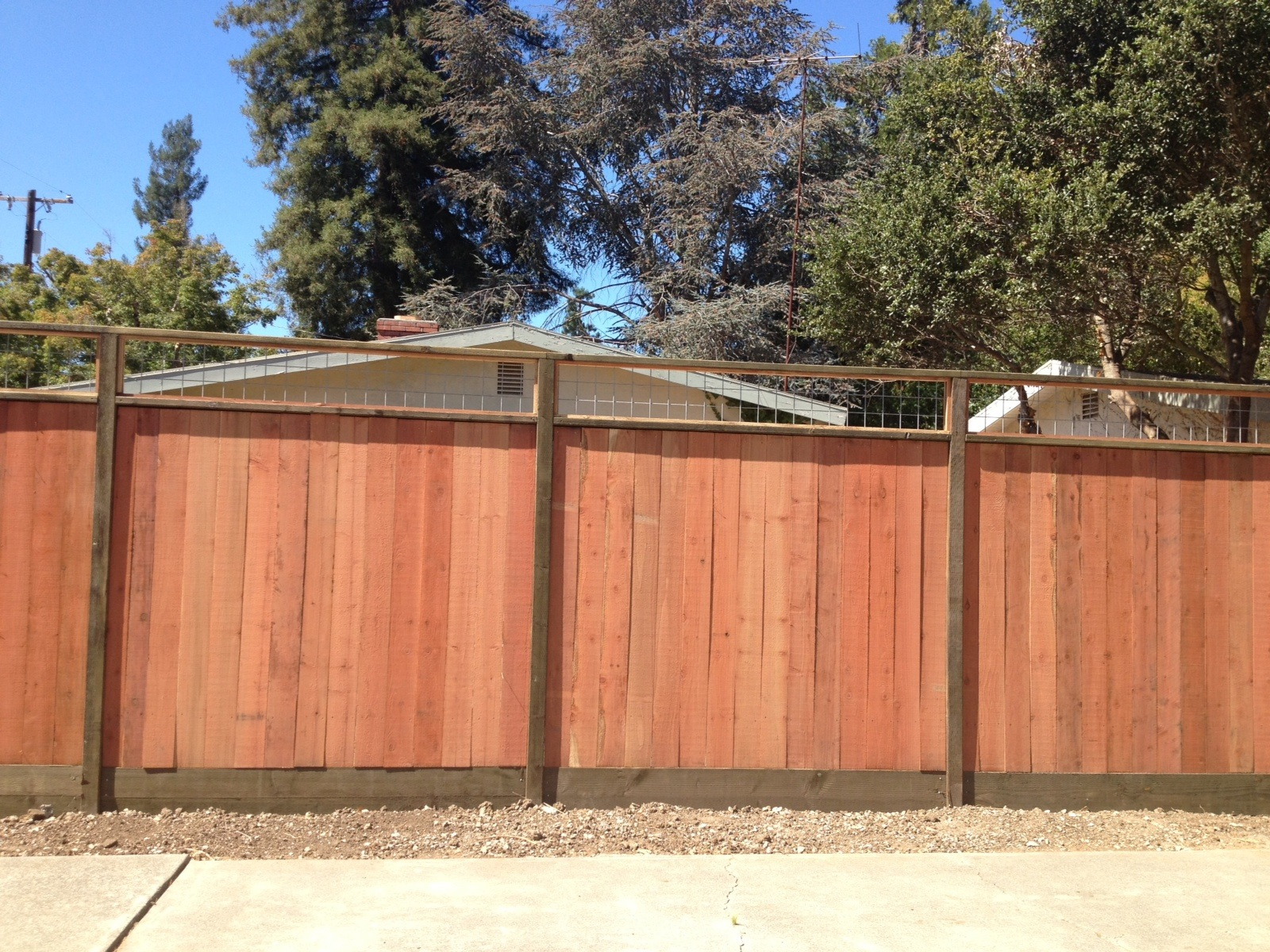 Custom Tops For Solid Fences 171 Arbor Fence Inc A Diamond