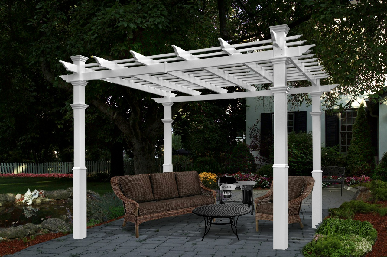 Vinyl Arbors 171 Arbor Fence Inc A Diamond Certified Company