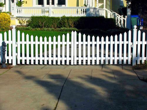 VINYL DRIVEWAY GATES Arbor Fence Inc a Diamond Certified Company