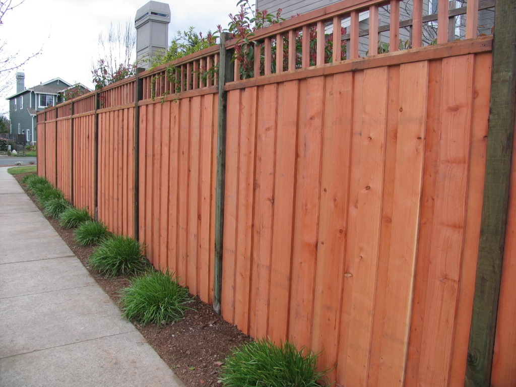 1 2 2 2 top treatment arbor fence inc a diamond for Fence with arbor