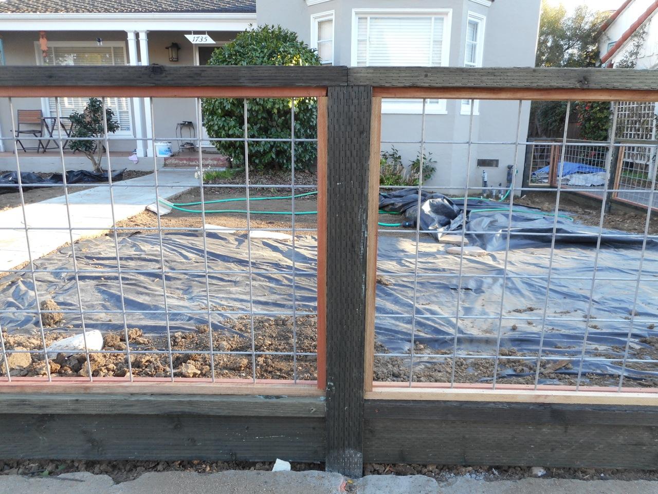 4×4) & (2×4) Hi-Five Wire Panels « Arbor Fence Inc | a Diamond ...