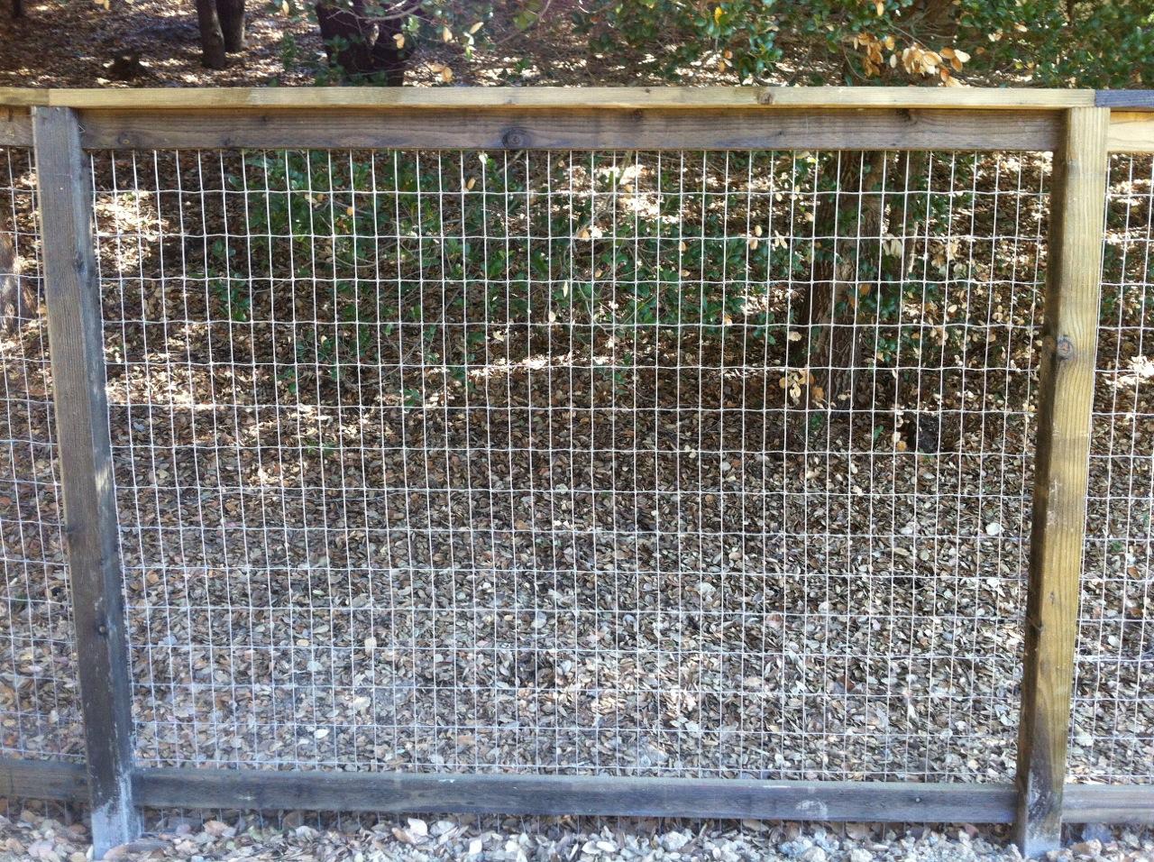 2×4 NON-CLIMB WIRE « Arbor Fence Inc | a Diamond Certified Company