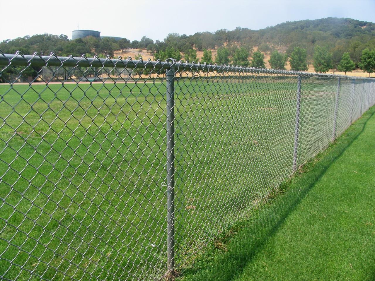 Galvanized Chainlink Fences 171 Arbor Fence Inc A Diamond