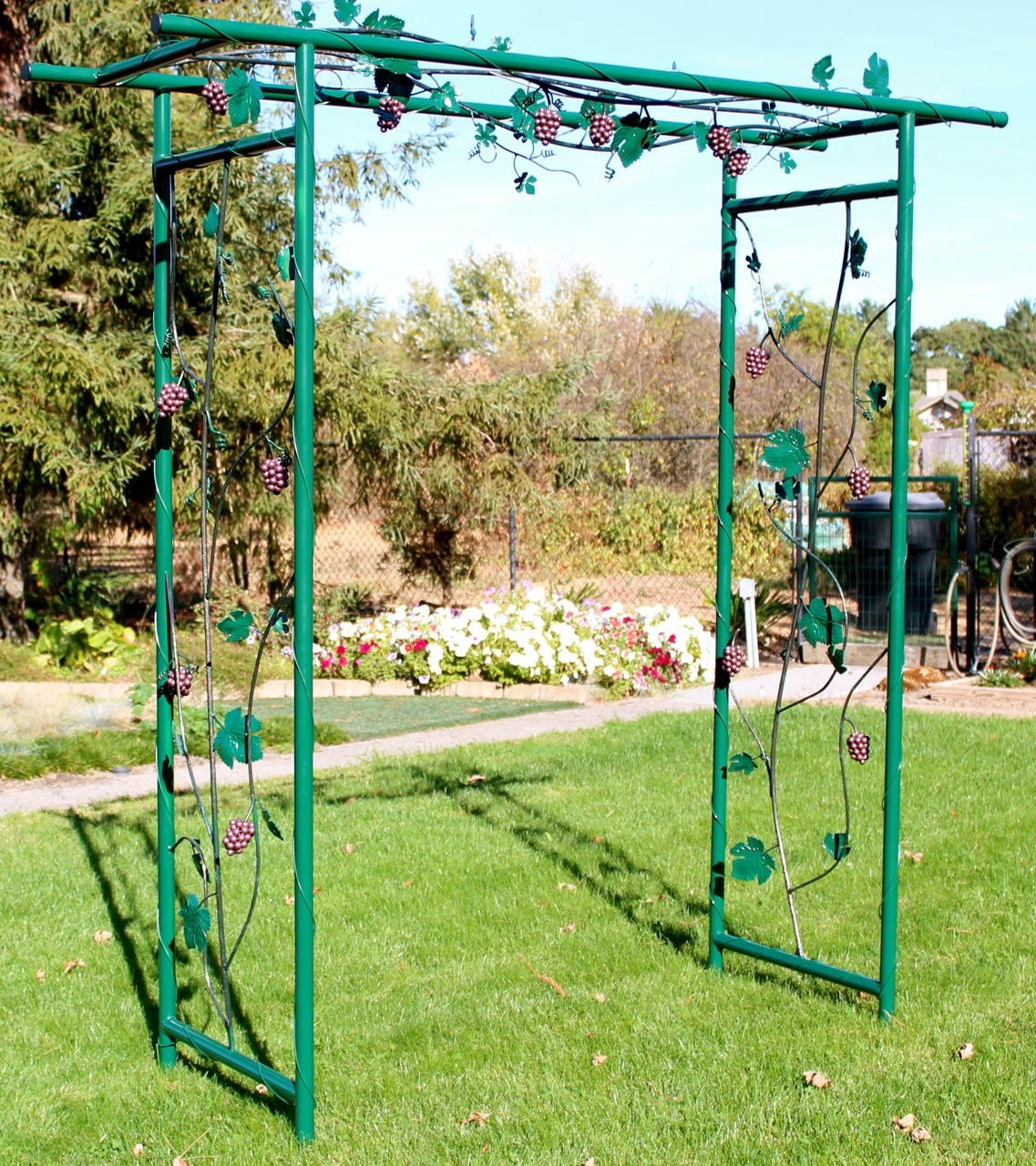 Steel Garden Arbors 171 Arbor Fence Inc A Diamond